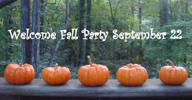 Rhondi's Fall Party