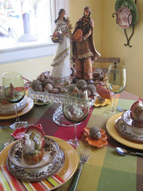 Opulent Cottage Native American Tablescape