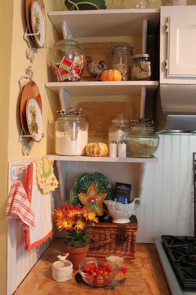 Fall shelves