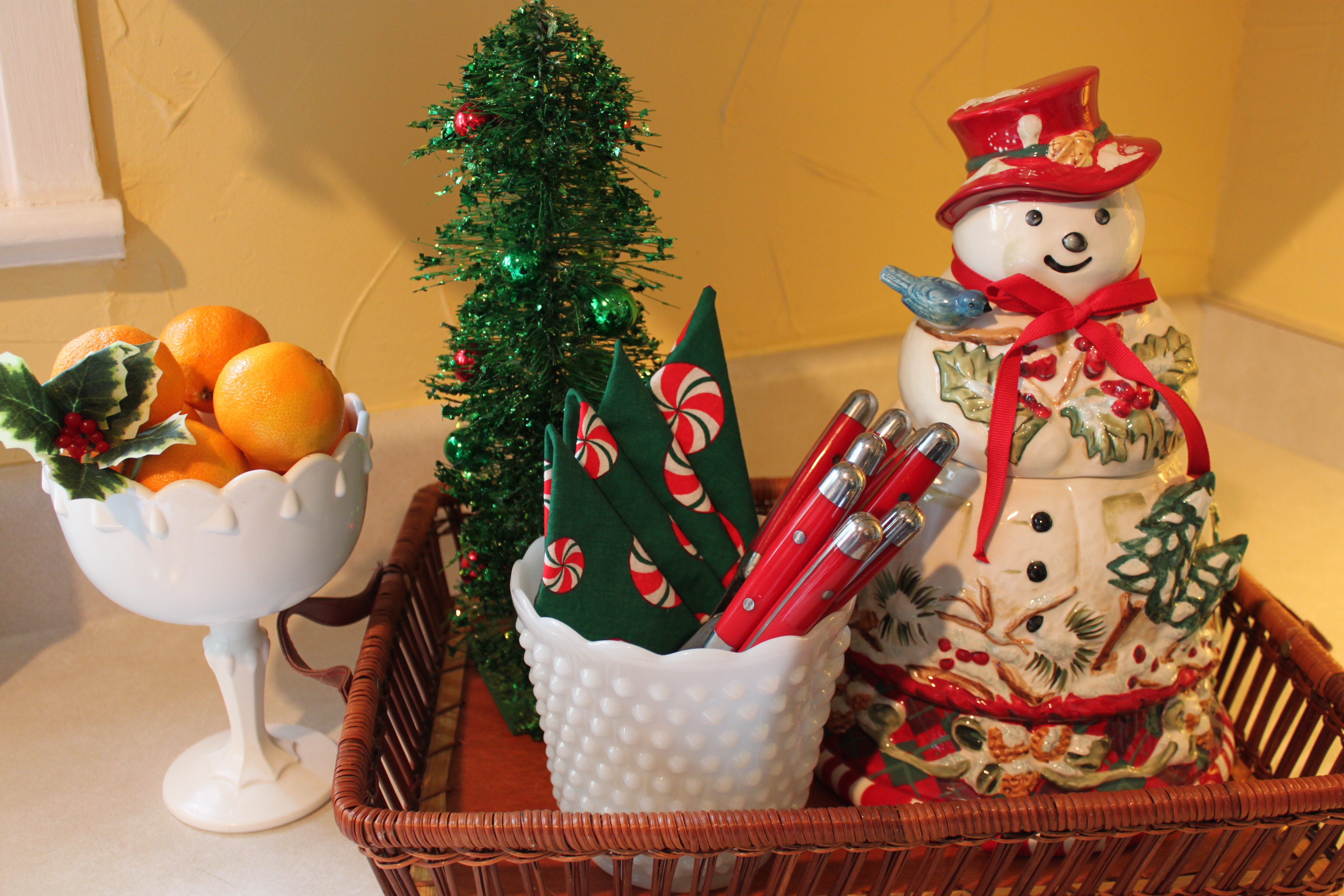Christmas Kitchen Opulent Cottage More Candy Christmas Kitchen Decor