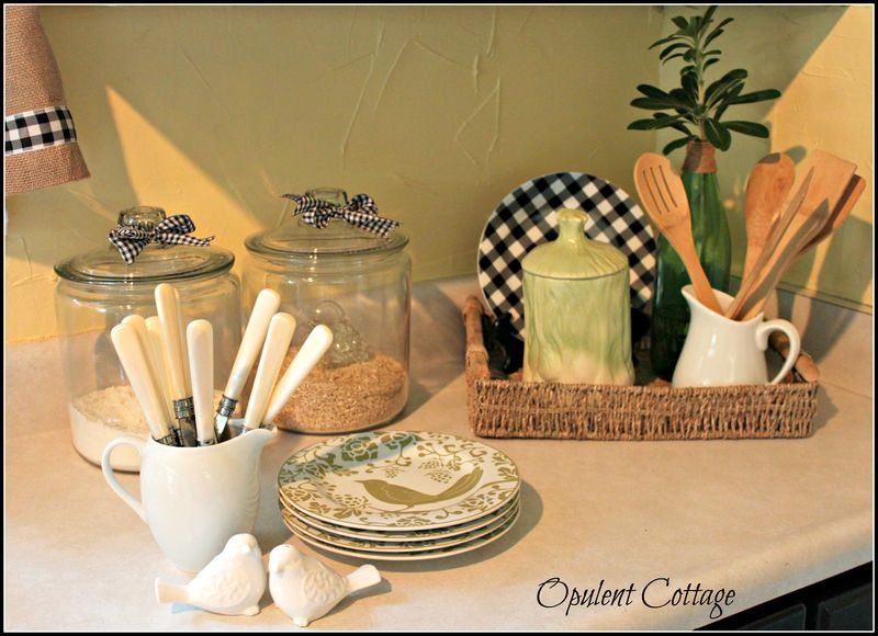 Opulent Cottage Early Fall Kitchen 05