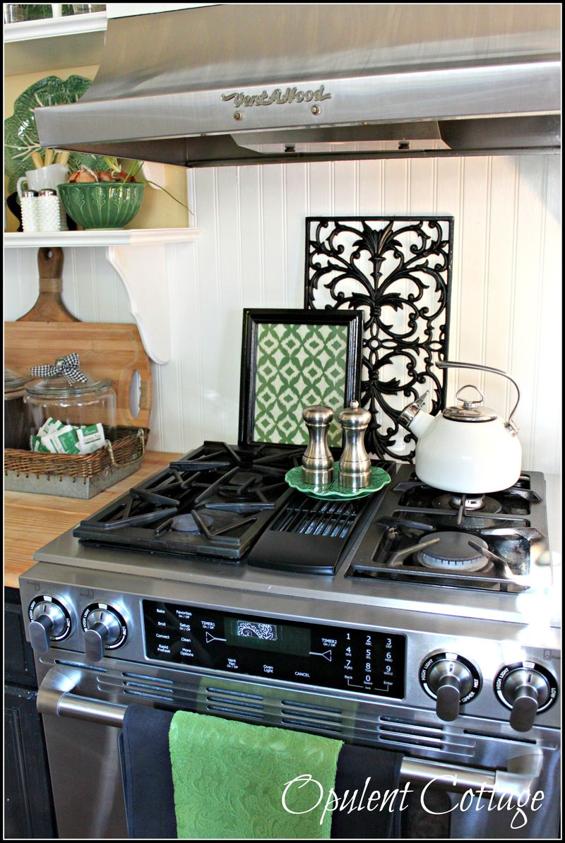 Opulent Cottage Early Fall Kitchen 19