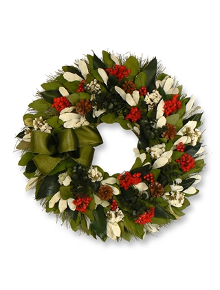 Holiday Gala Wreath