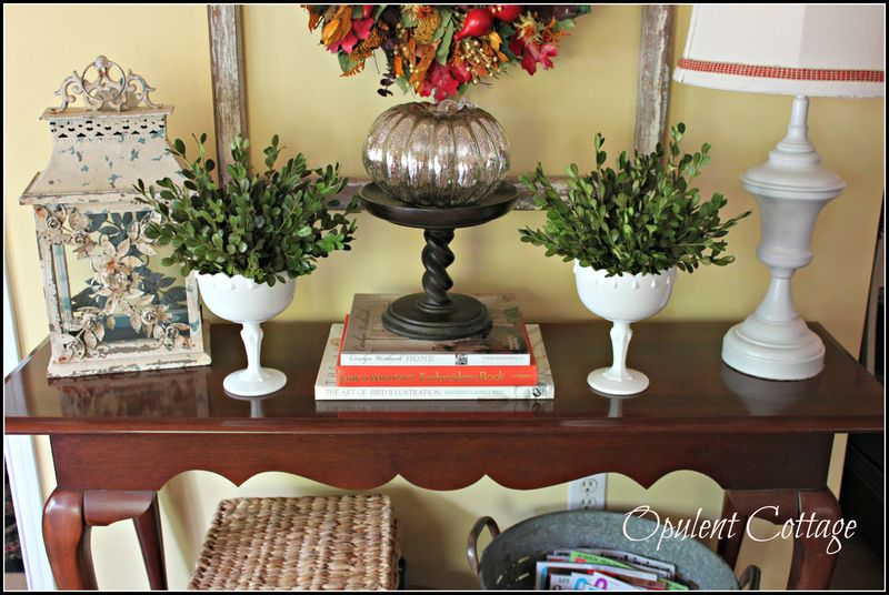 Opulent Cottage New Sofa Table