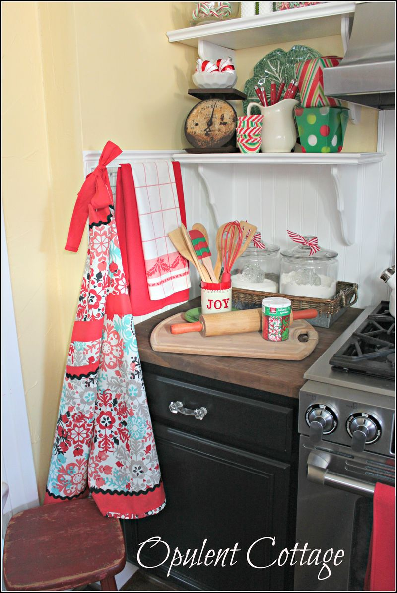 Opulent Cottage Christmas Baking Station6