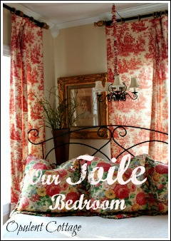 Our Toile Bedroom