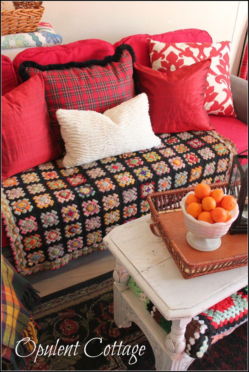Opulent Cottage Winter Room
