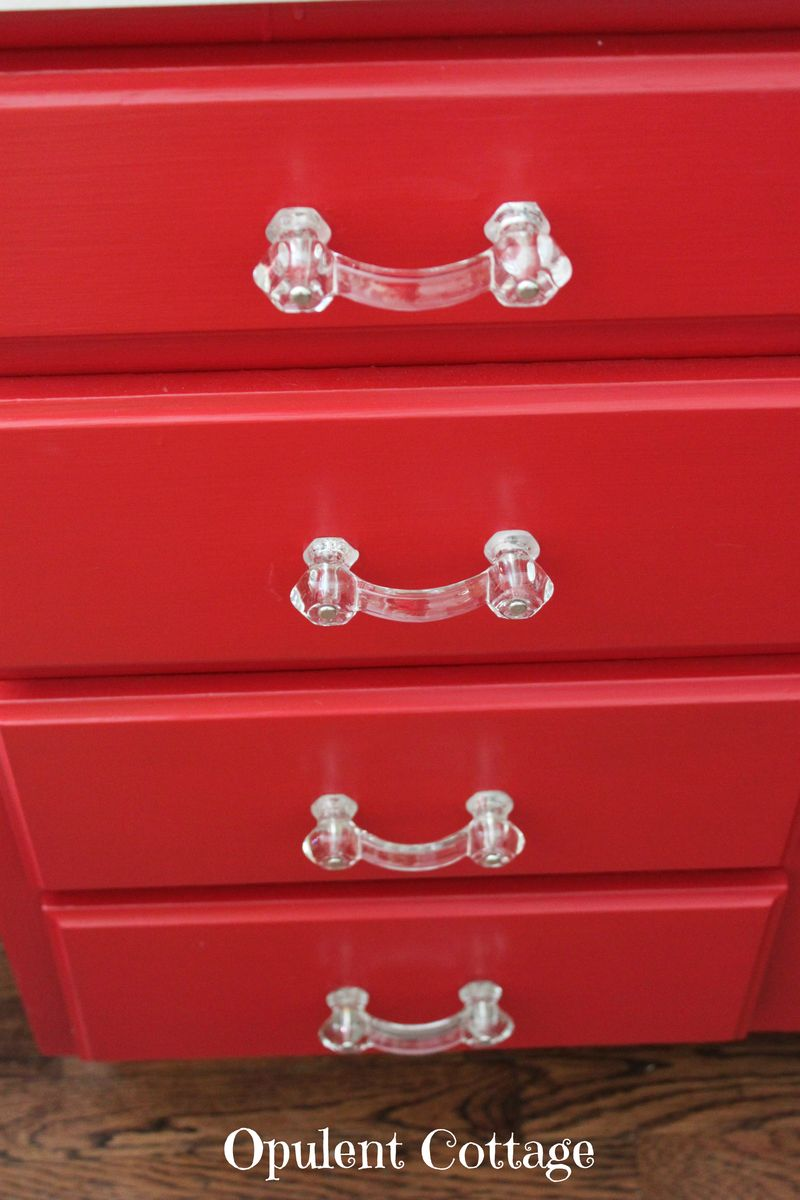 Red Kitchen Cabinets6