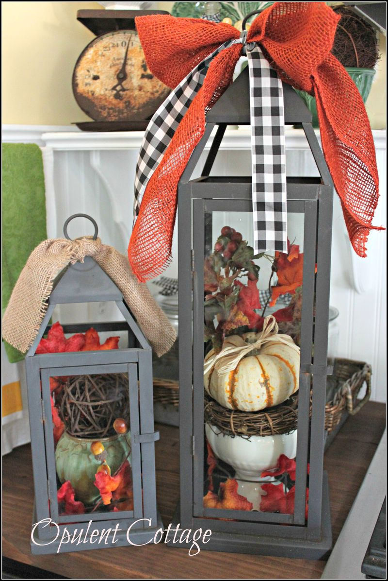 Opulent Cottage Fall Lanterns5