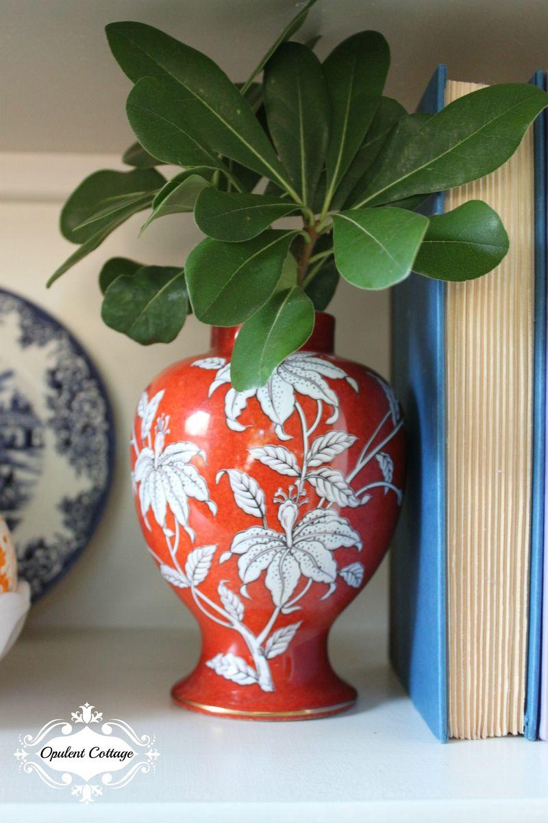Opulent Cottage Vintage Ginger Jar