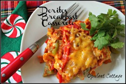 Opulent Cottage Doritos Breakfast Casserole