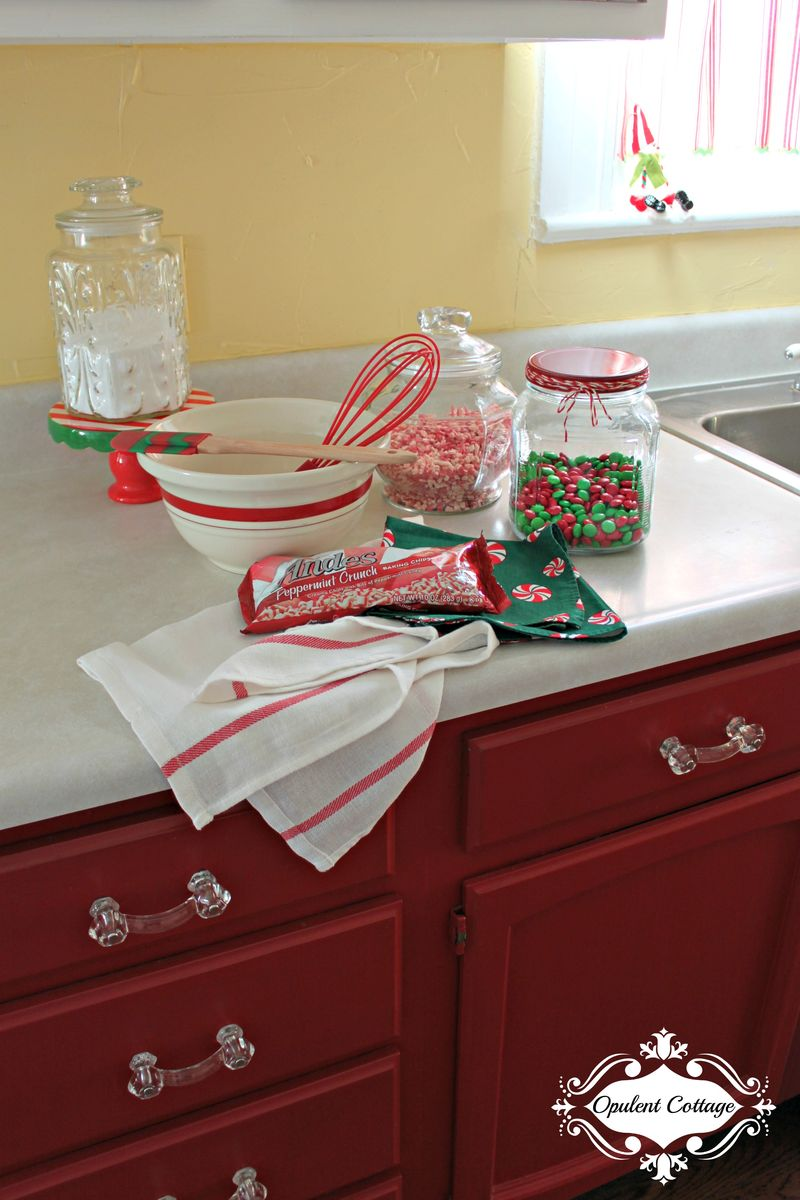 Opulent Cottage Christmas Kitchen Baking 2015