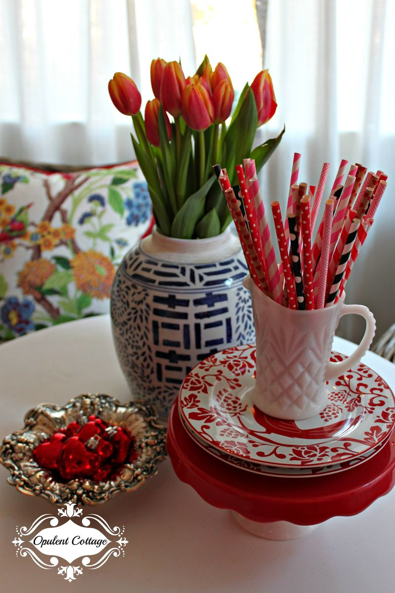 Opulent Cottage Valentine Table