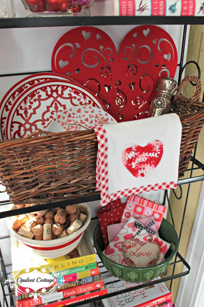 Opulent Cottage Valentine Baker's Rack