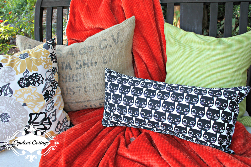 Opulent Cottage Fall Back Patio Pillows
