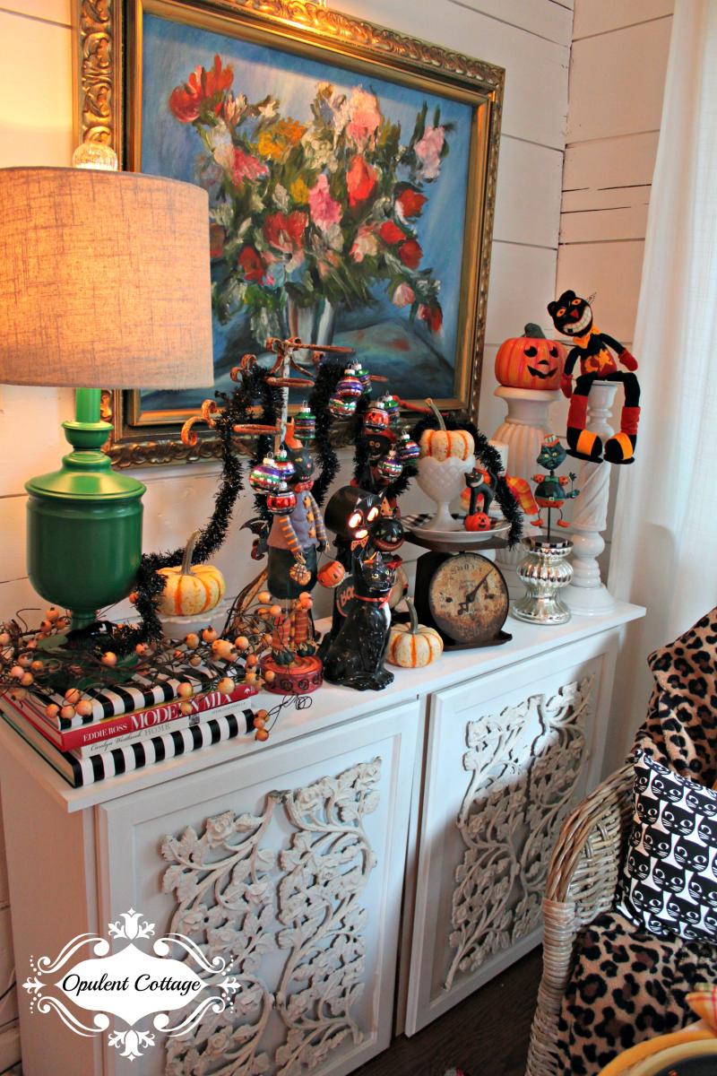 Opulent Cottage Halloween Buffet