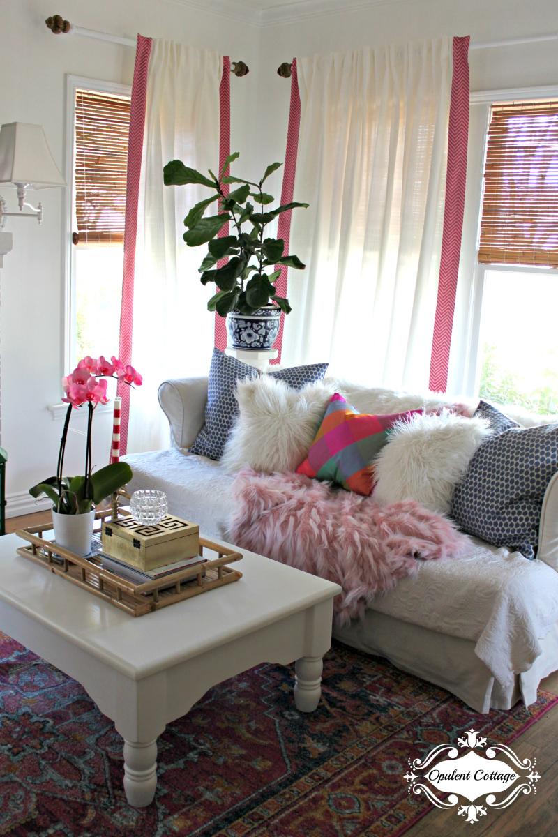 Opulent Cottage One Room Challenge Living Room 2