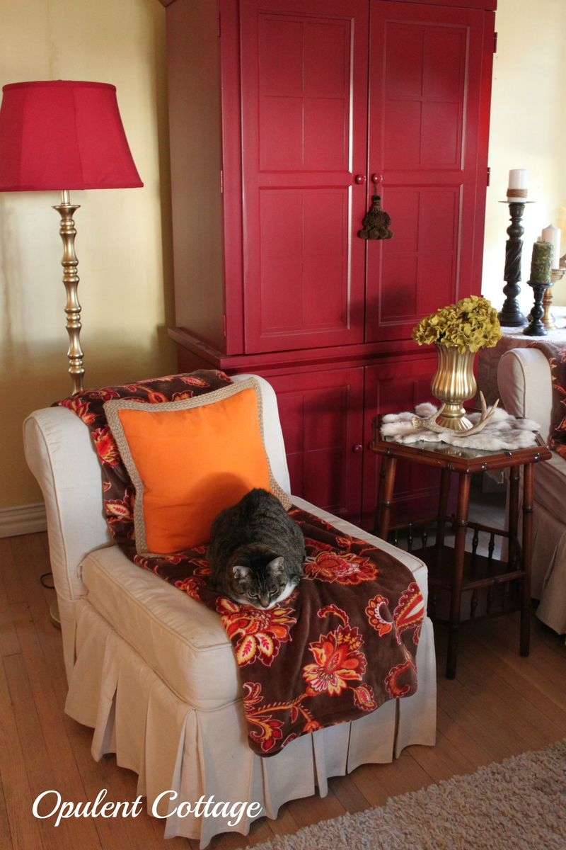 Opulent Cottage Fall Decor