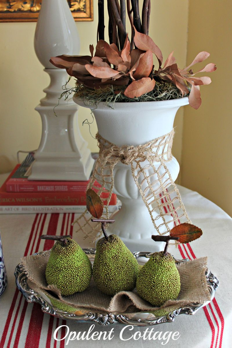 Opulent Cottage Pottery Barn Knockoff Pears