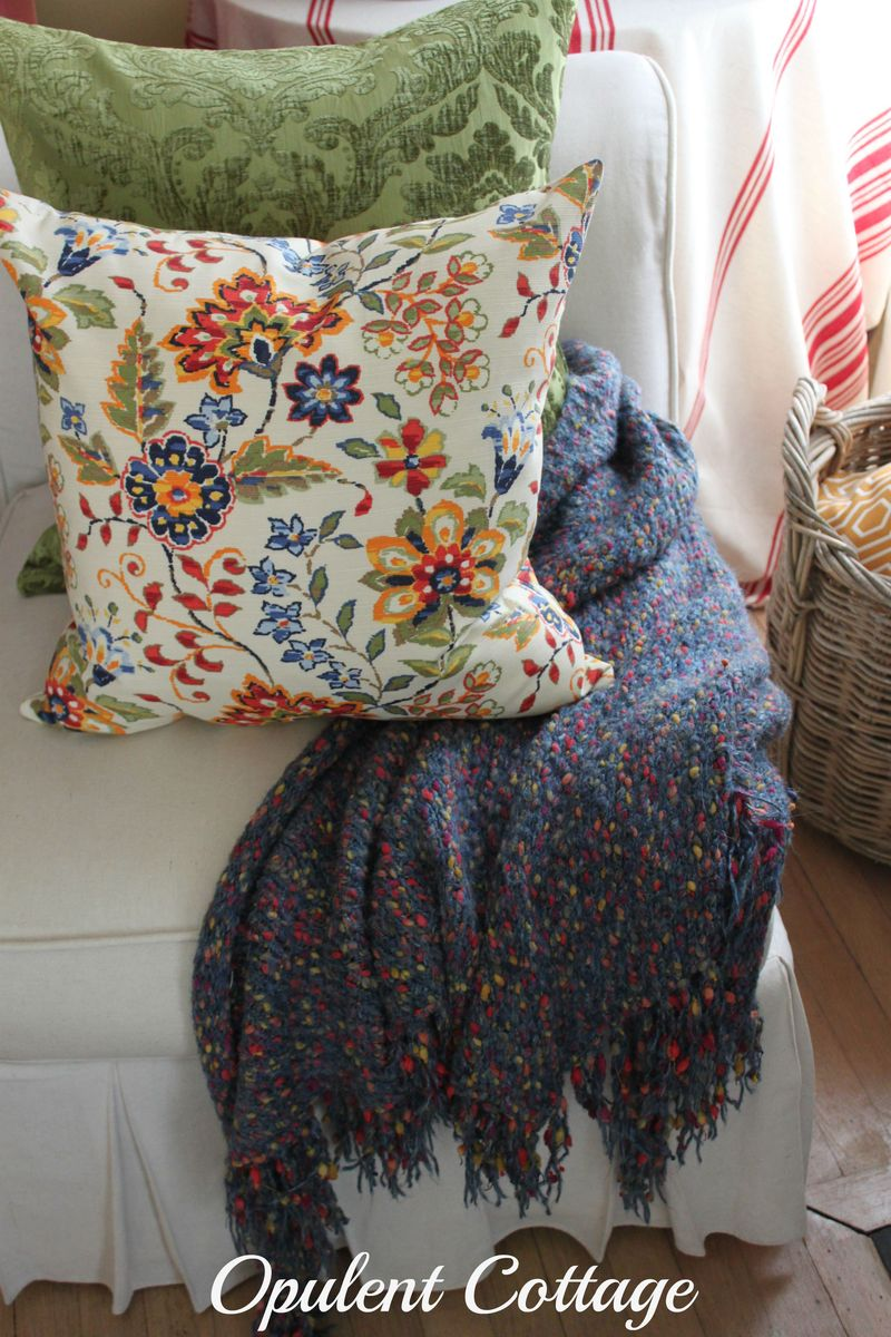 Opulent Cottage Fall Throw and Pillows