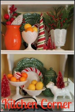 Opulent Cottage Christmas Kitchen