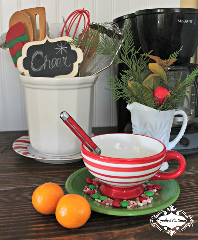 Opulent Cottage Christmas Kitchen Cheer 2015