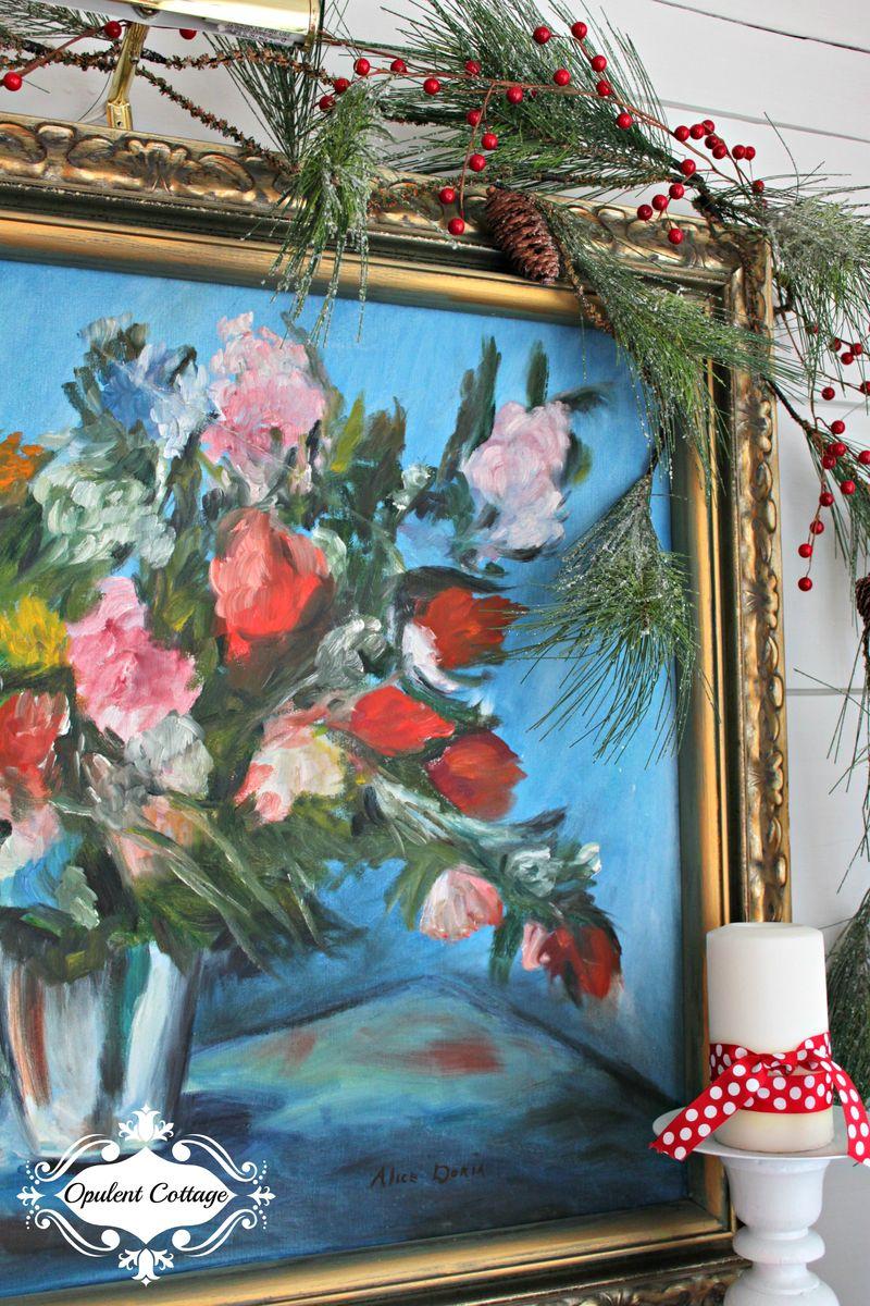 Opulent Cottage Christmas Garland
