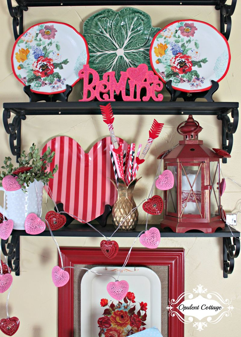 Opulent Cottage Valentine Kitchen