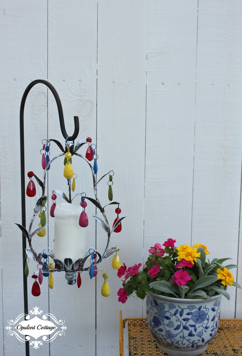 Opulent Cottage Outdoor Chandy
