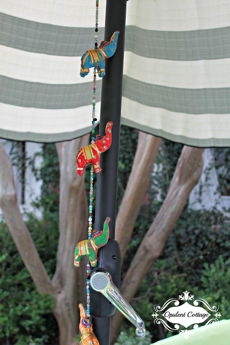 Opulent Cottage BH&G Umbrella Cranking Mechanism