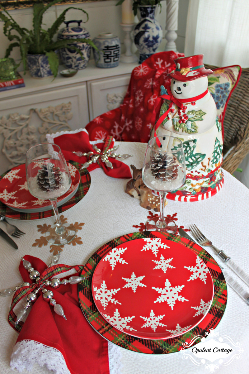 Opulent Cottage Snow Day Table