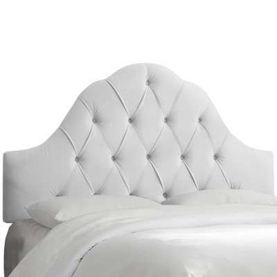 Skyline-Furniture-Arched-Upholstered-Panel-Headboard