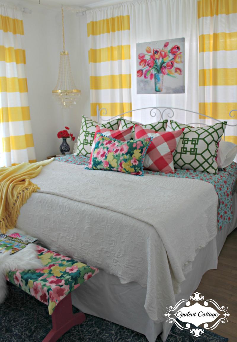 Opulent Cottage One Room Challenge Master Bedroom Makeover