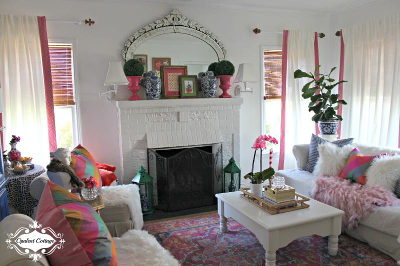 Opulent Cottage One Room Challenge Living Room 3