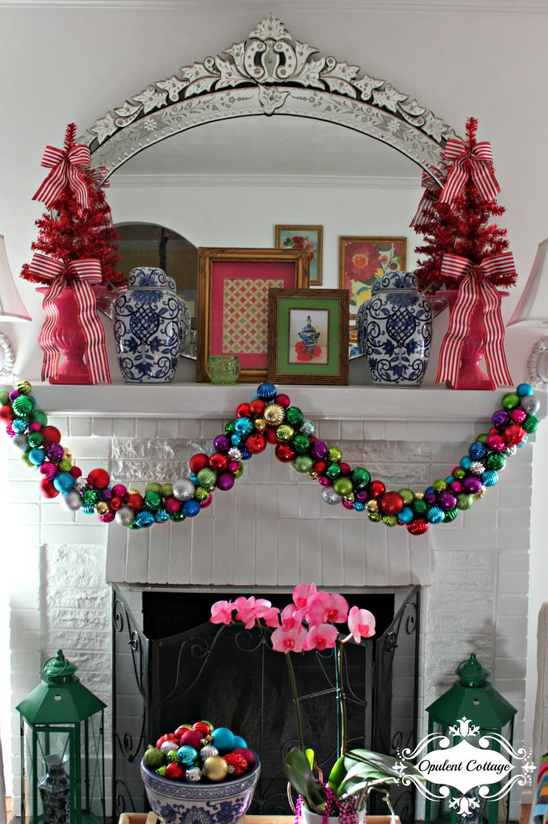 Opulent Cottage Christmas Living Room 2017-8