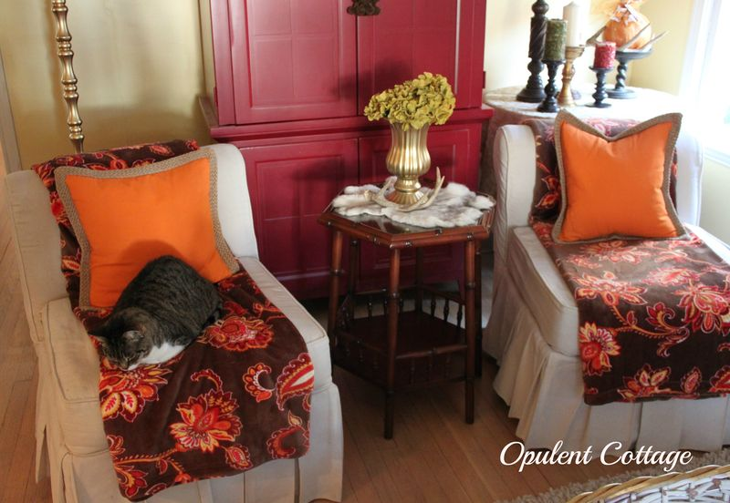 Opulent Cottage Fall chairs