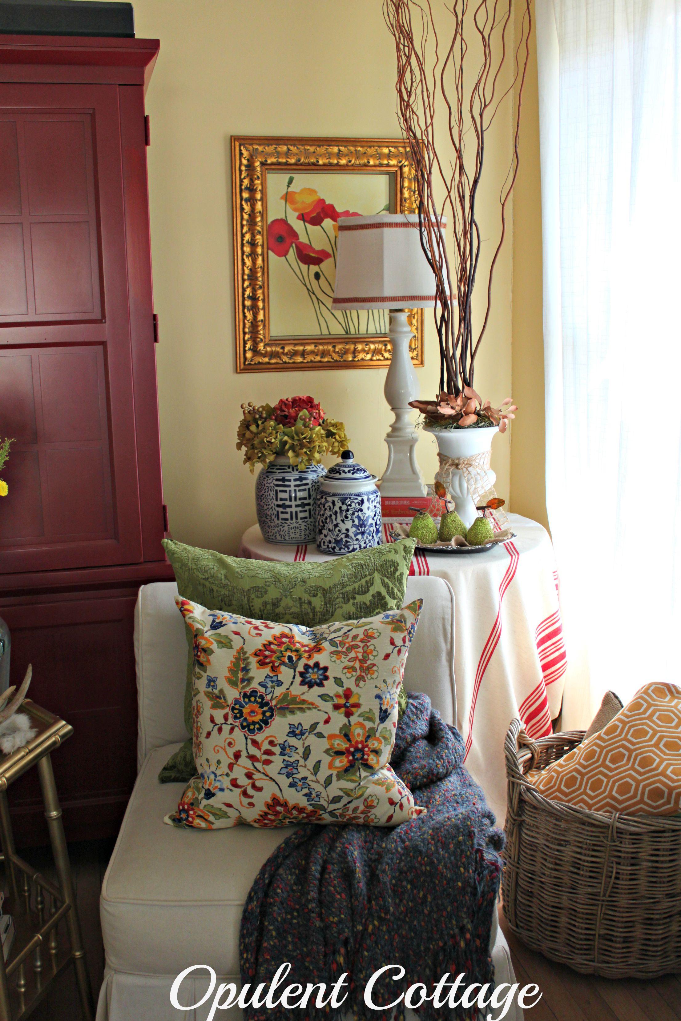 Opulent Cottage Fall Decor Lite