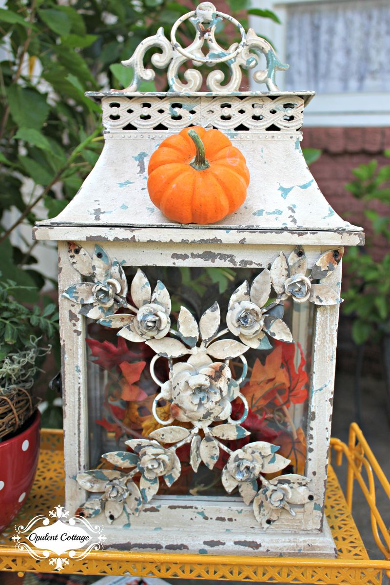 Opulent Cottage Fall Home Tour Vintage Style Lantern