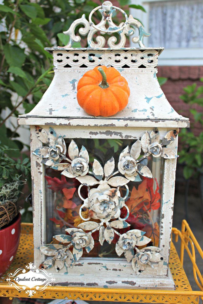 Opulent Cottage Fall Home Tour Vintage Style Lantern