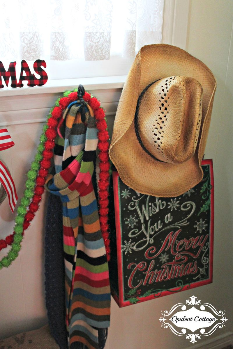 Opulent Cottage Christmas Foyer Scarves 2015