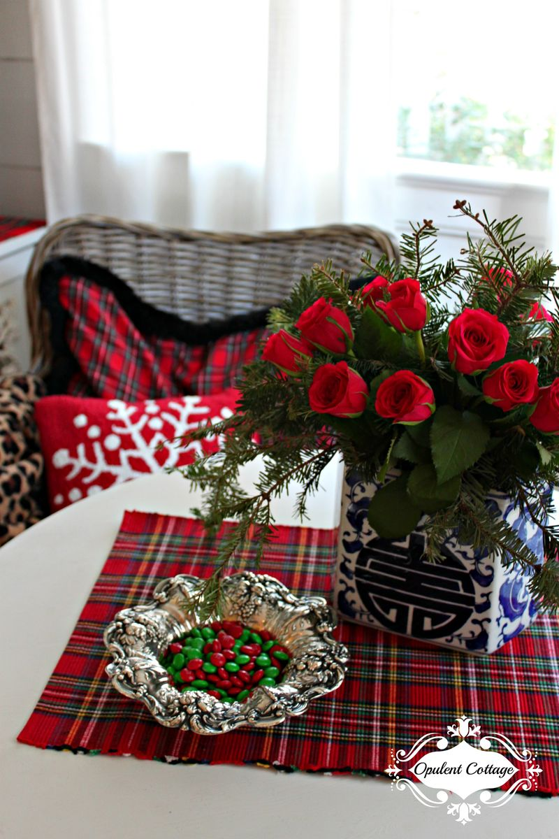 Opulent Cottage Christmas Roses 2015