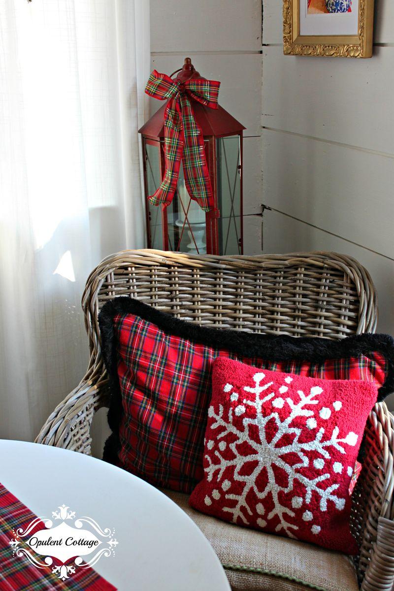 Opulent Cottage Christmas Pillows