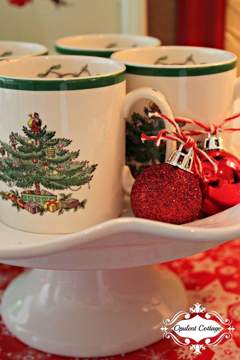 Opulent Cottage Christmas Spode