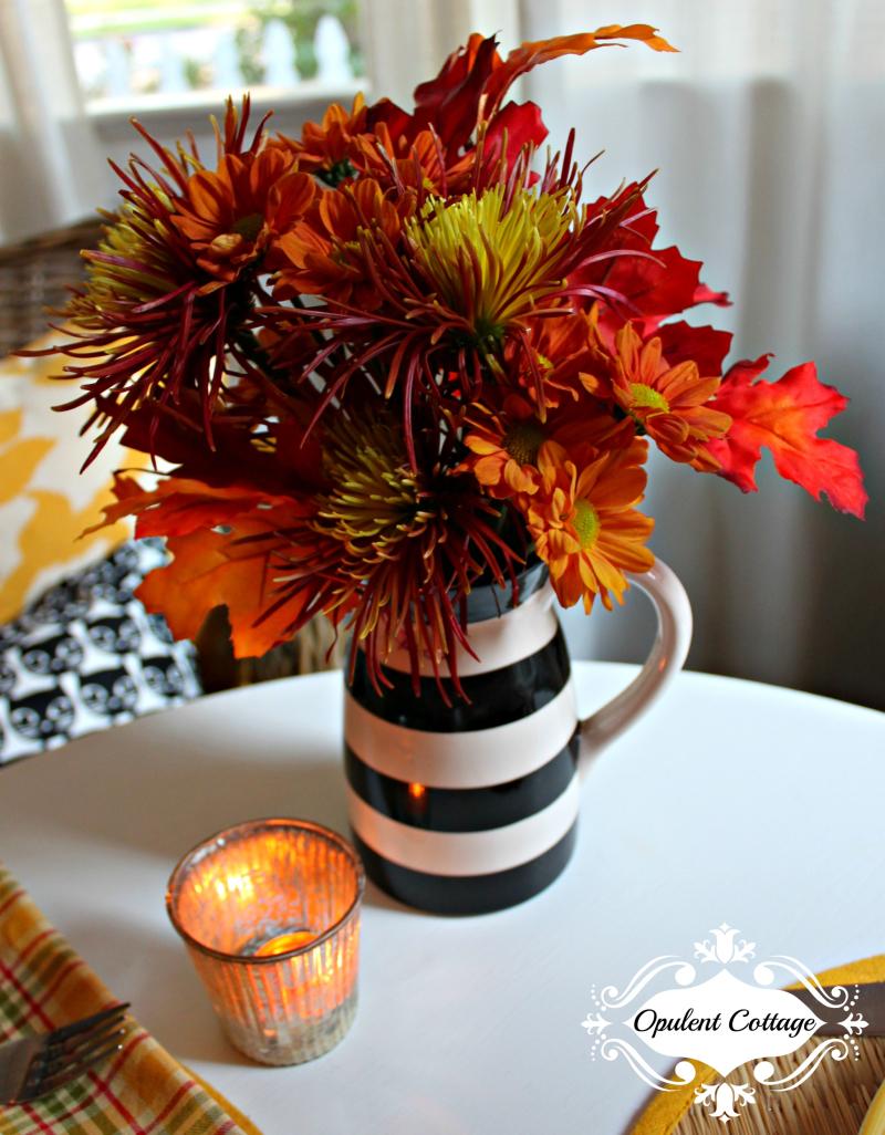 Opulent Cottage Halloween Flowers