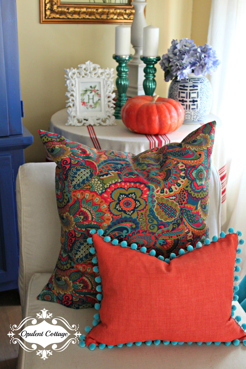 Opulent Cottage Fall Pillows