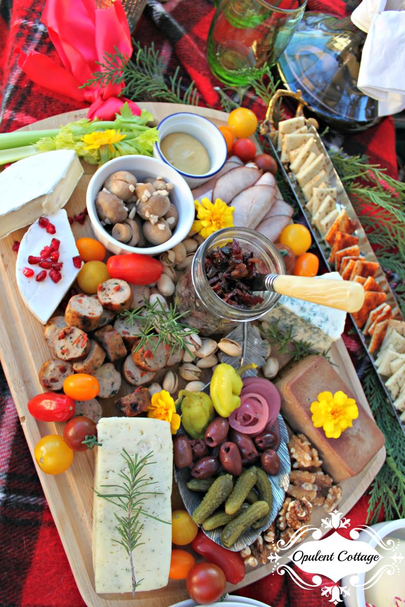 Opulent Cottage Charcuterie Table