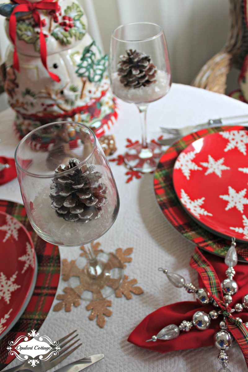 Opulent Cottage Snow Day Wine