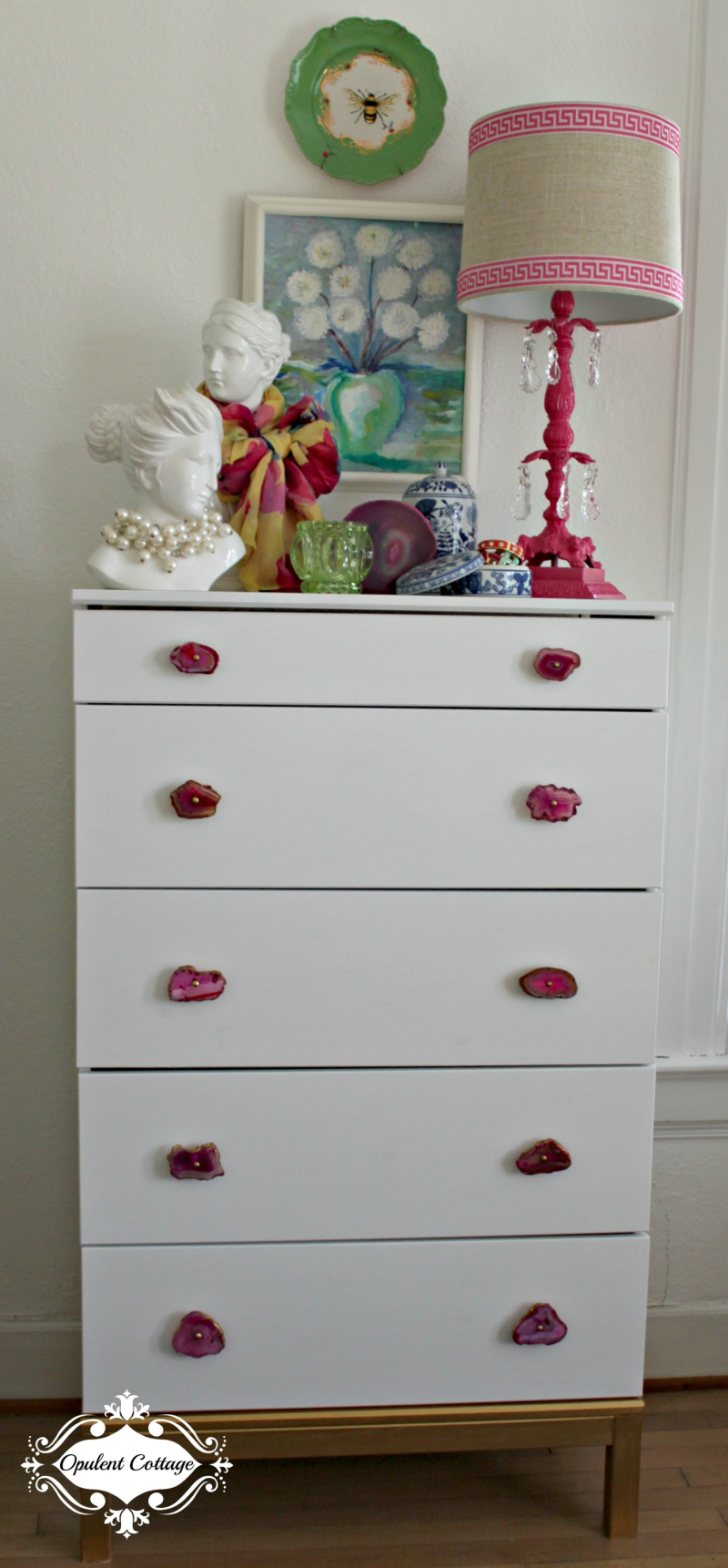 Opulent Cottage Ikea Dresser Hack