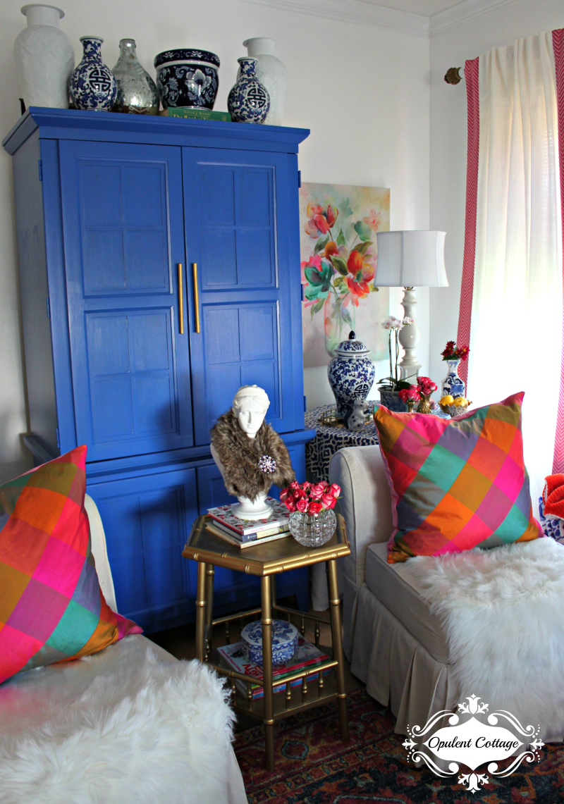 Opulent Cottage One Room Challenge Living Room 1