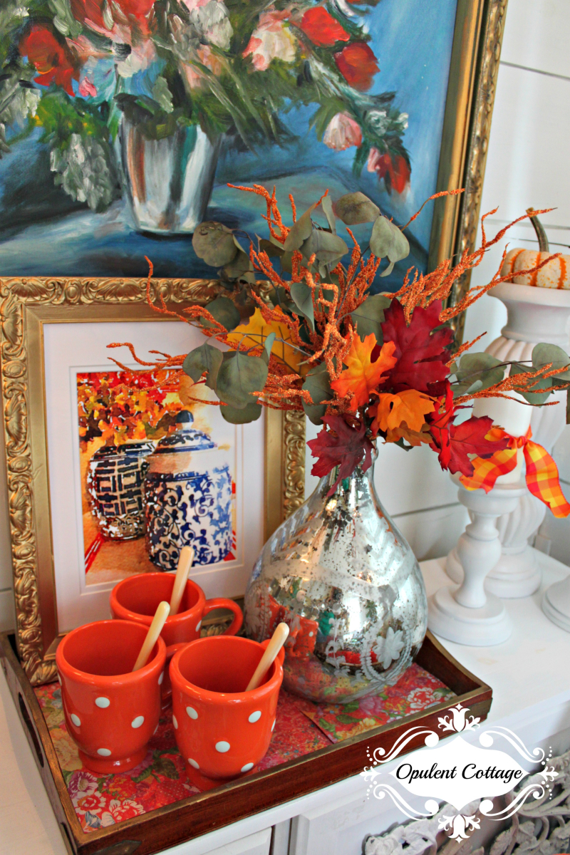 Opulent Cottage Fall Vignette 2016